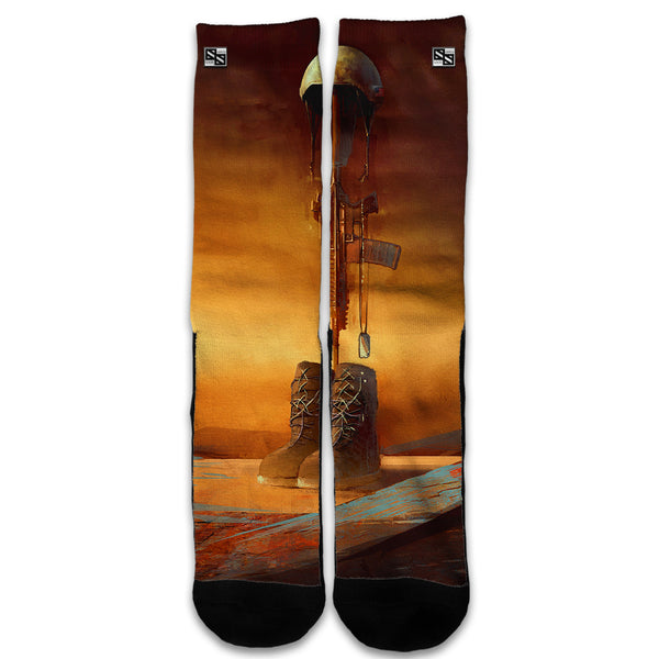 Never Forgotten Military Boots Rifle Universal Socks
