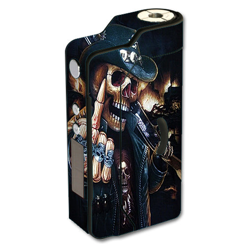 Middle Finger Skeleton Sigelei 150W TC Skin