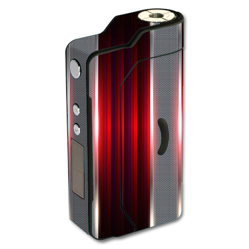 Red Metal Pattern Screen Sigelei 150W TC Skin