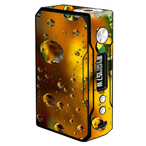 Gold Water Drops Droplets Voopoo Drag 157w Skin