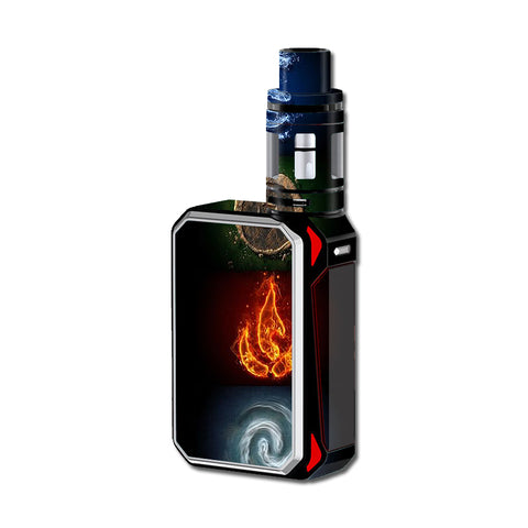 Elements Water Earth Fire Air Smok G-Priv 220W Skin