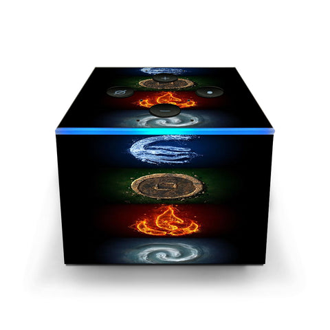 Elements Water Earth Fire Air Amazon Fire TV Cube Skin