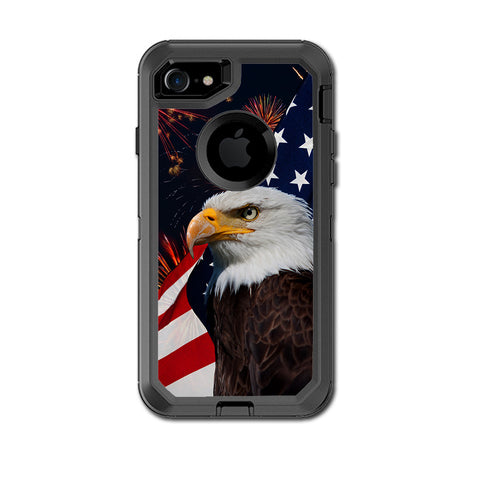 Eagle America Flag Independence Otterbox Defender iPhone 7 or iPhone 8 Skin