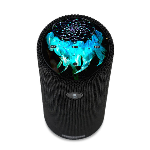 Dream Catcher Dreamcatcher Blue Feathers Amazon Tap Skin