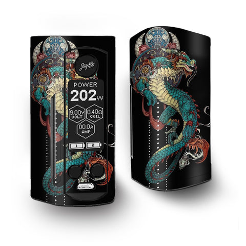 Dragon Japanese Style Tattoo Vaporesso Armour Kit Skin