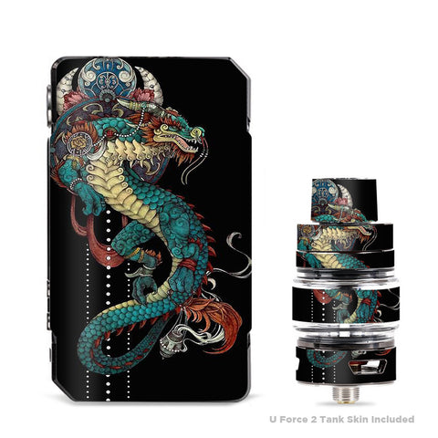Dragon Japanese Style Tattoo VooPoo Drag Mini Skin