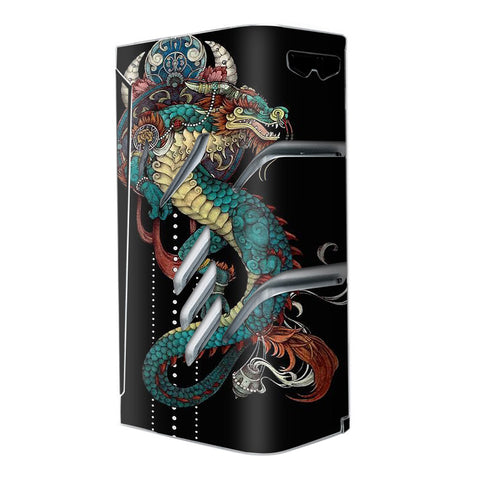 Dragon Japanese Style Tattoo Smok T-Priv Skin