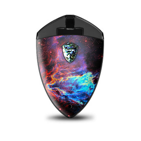 Cosmic Color Galaxy Universe Smok Rolo Badge Skin