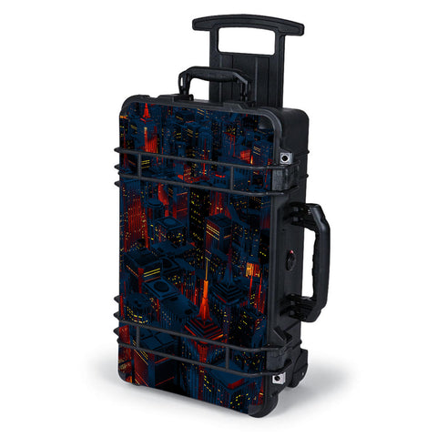 City Glow At Night Skyline View Pelican Case 1510 Skin
