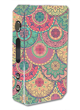 Circle Mandala Design Pattern Pioneer4You ipv3 Li 165W Skin