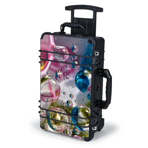 Bubblicious Water Bubbles Colors Pelican Case 1510 Skin