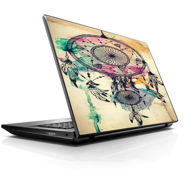 Dream Catcher Boho Design Universal 13 to 16 inch wide laptop Skin