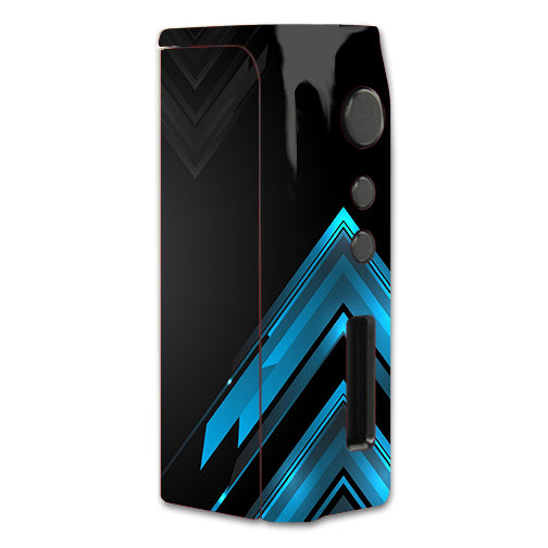 Black Blue Sharp Design Edge Pioneer4You iPVD2 75W Skin
