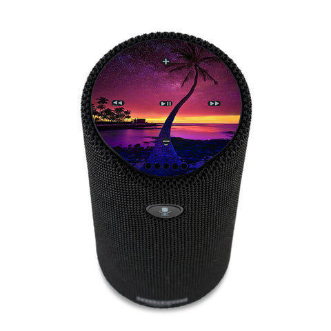 Palm Tree Stars And Sunset Purple Amazon Tap Skin