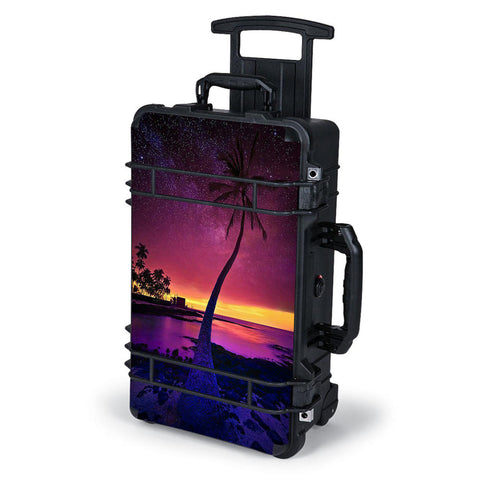 Palm Tree Stars And Sunset Purple Pelican Case 1510 Skin