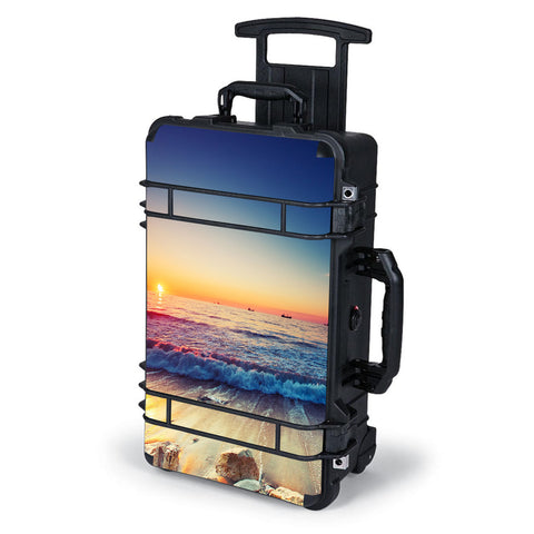 Beach Tide Water Rocks Sunset Pelican Case 1510 Skin