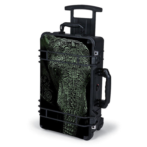 Aztec Elephant Tribal Design Pelican Case 1510 Skin