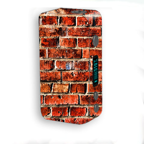 Red Brick Wall Rough Brickhouse Smok Kooper Plus 200w Skin