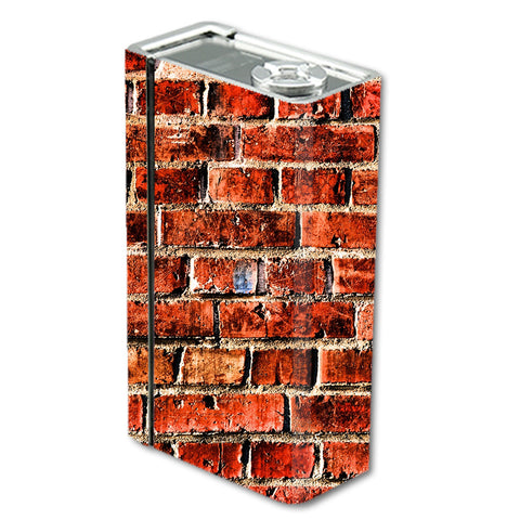 Red Brick Wall Rough Brickhouse Smok Xcube BT50 Skin