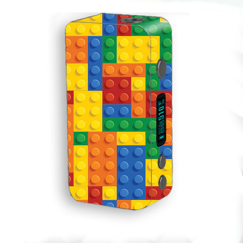 Playing Blocks Bricks Colorful Snap Smok Kooper Plus 200w Skin