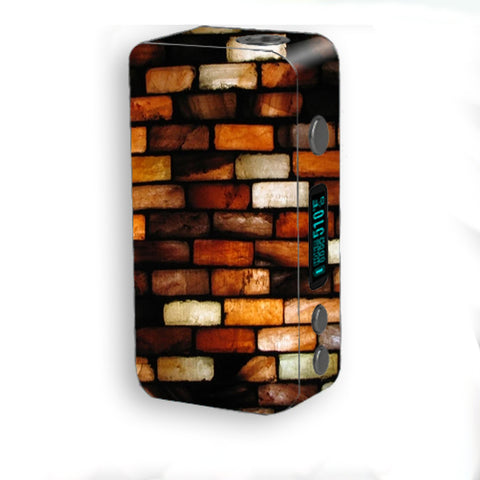 Stained Glass Bricks Brick Wall Smok Kooper Plus 200w Skin