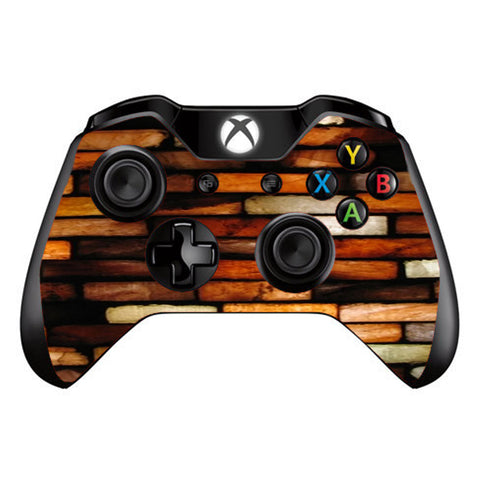 Stained Glass Bricks Brick Wall Microsoft Xbox One Controller Skin