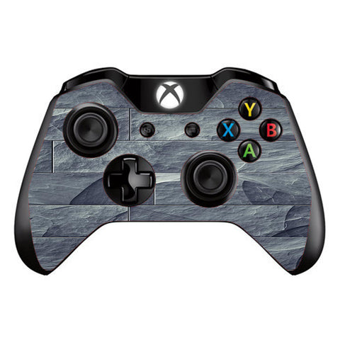 Grey Slate Panel Brick Wall Bricks Microsoft Xbox One Controller Skin