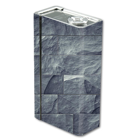 Grey Slate Panel Brick Wall Bricks Smok Xcube BT50 Skin