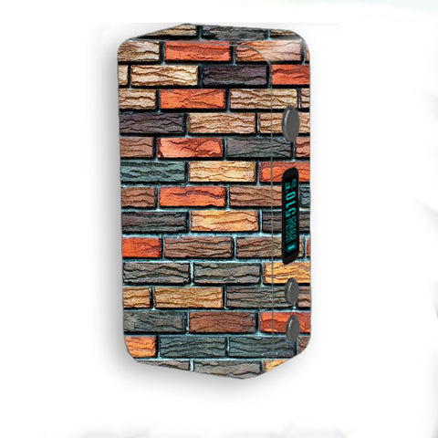Colorful Brick Wall Design Smok Kooper Plus 200w Skin
