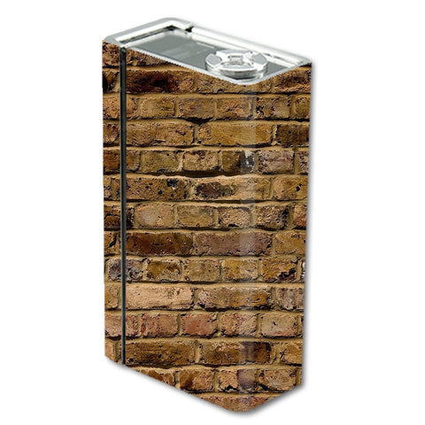 Brown Rough Brick Wall Smok Xcube BT50 Skin