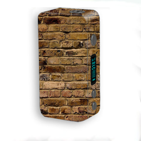 Brown Rough Brick Wall Smok Kooper Plus 200w Skin
