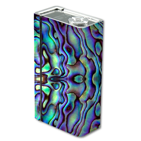Abalone Sea Shell Green Blue Purple Smok Xcube BT50 Skin