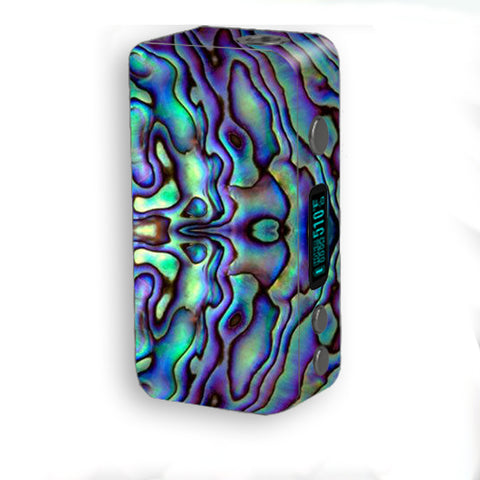 Abalone Sea Shell Green Blue Purple Smok Kooper Plus 200w Skin