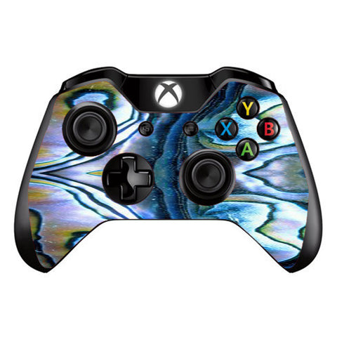 Abalone Aulon Sea Shells Pattern Crystal Microsoft Xbox One Controller Skin