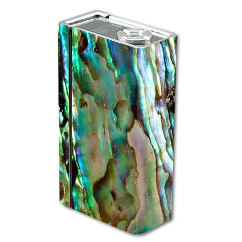 Abalone Sea Shell Gold Blues Beautiful Smok Xcube BT50 Skin