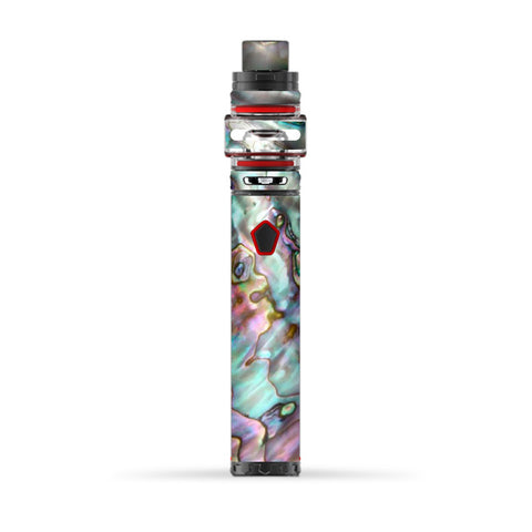 Abalone Pink Green Purple Sea Shell  Smok Stick Prince Baby Skin