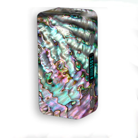 Abalone Pink Green Purple Sea Shell Smok Kooper Plus 200w Skin