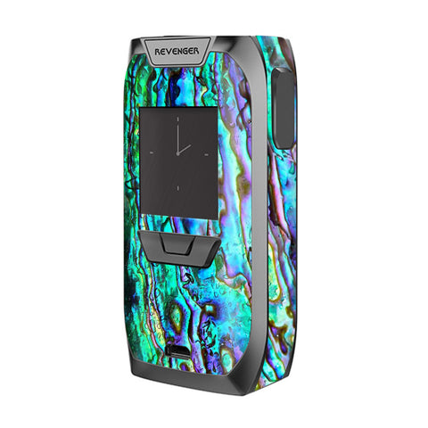 Abalone Ripples Green Blue Purple Shells Vaporesso Revenger Skin