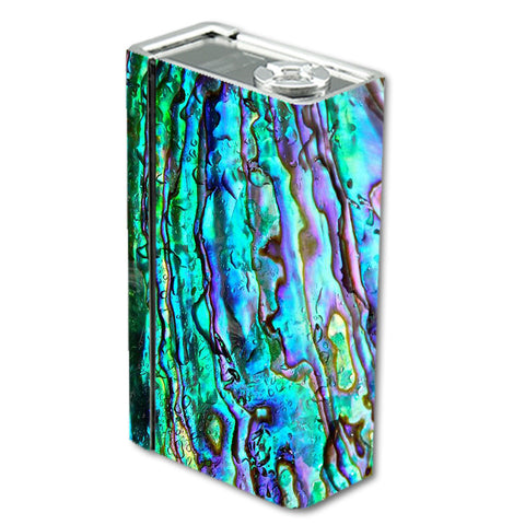 Abalone Ripples Green Blue Purple Shells Smok Xcube BT50 Skin