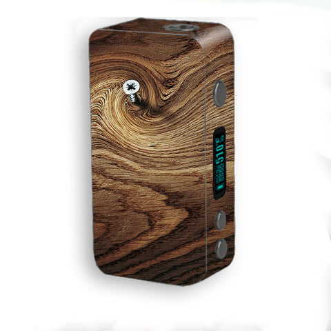 Dark Wood Knot Screw In Walnut Smok Kooper Plus 200w Skin
