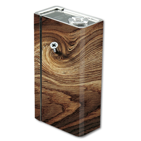 Dark Wood Knot Screw In Walnut Smok Xcube BT50 Skin