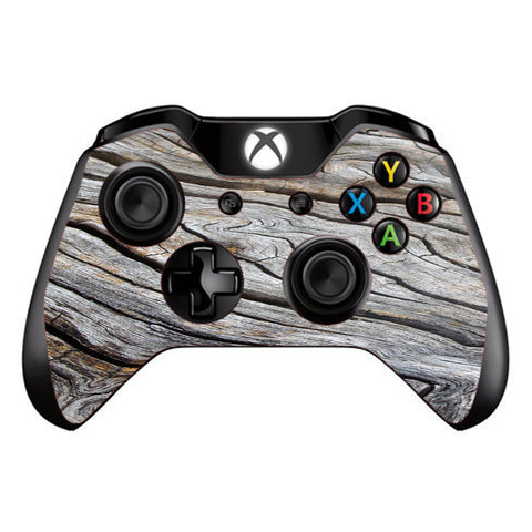 Drift Wood Reclaimed Oak Log Microsoft Xbox One Controller Skin