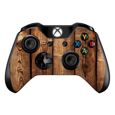 Wood Panels Cherry Oak Microsoft Xbox One Controller Skin