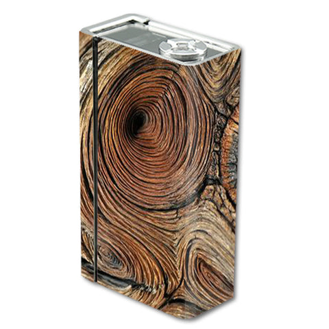 Wood Knot Swirl Log Outdoors Smok Xcube BT50 Skin
