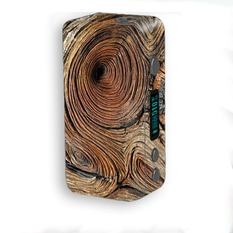 Wood Knot Swirl Log Outdoors Smok Kooper Plus 200w Skin