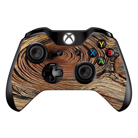 Wood Knot Swirl Log Outdoors Microsoft Xbox One Controller Skin