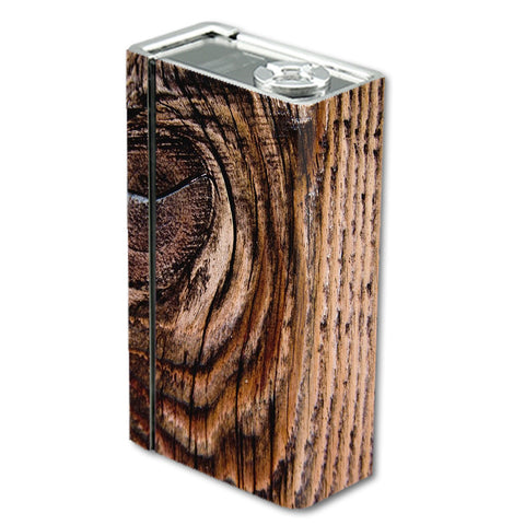 Wood Panel Mahogany Knot Solid Smok Xcube BT50 Skin