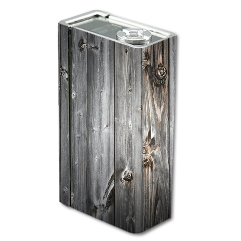 Grey Light Wood Panels Floor Smok Xcube BT50 Skin