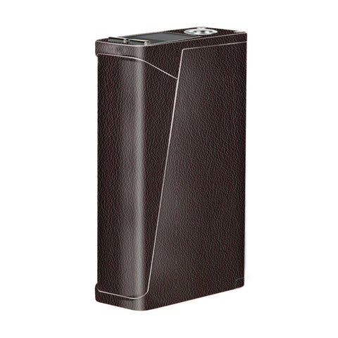 Brown Leather Design Pattern Smok H-Priv Skin
