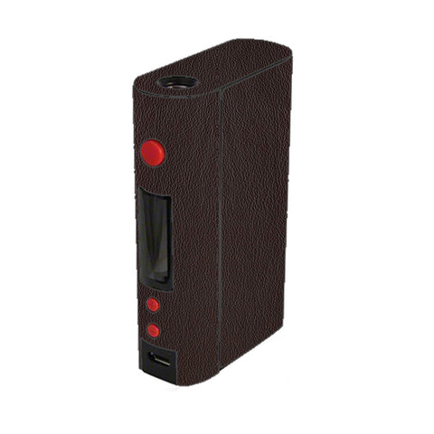 Brown Leather Design Pattern Kangertech Kbox 200w Skin